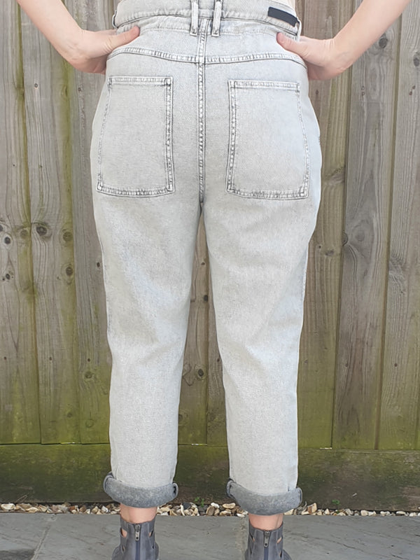 Annette Gortz Cotton Mix Jeans, Trousers, Annette Gortz, Blue Women - Blue Women's Clothing