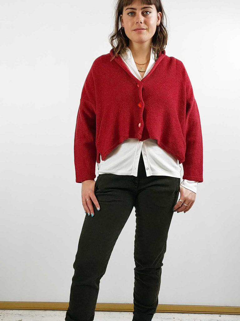 Quernstone Lambswool & Cashmere Cardigan [NORNA2] Other Colours