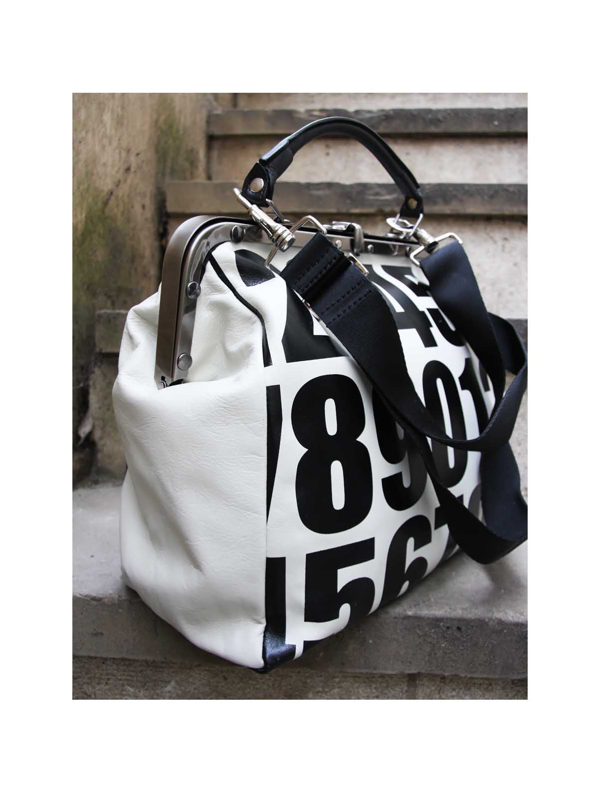 B.Florence Monochrome Gladstone Handbag - Digits, Accessories, B.Florence, Blue Women - Blue Women's Clothing