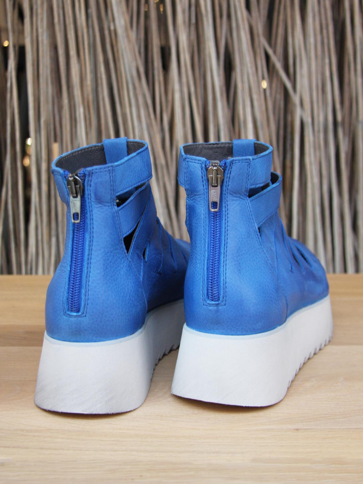 Lofina Platform Sandals - Royal Blue, Footwear, Lofina, Blue Women - Blue Women's Clothing