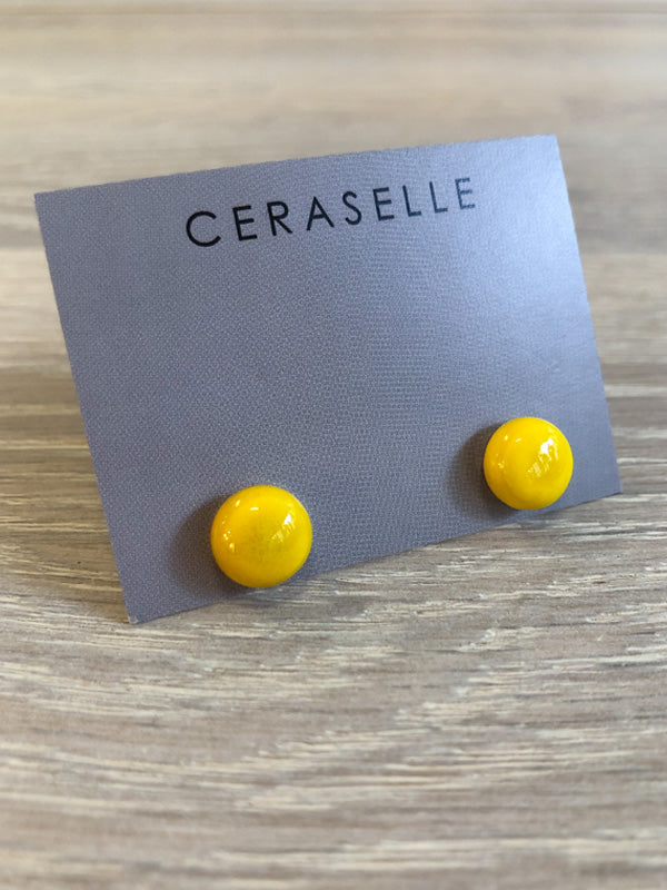 Ceraselle Ceramic Studs - 8 Colours, Accessories, Ceraselle, Blue Women - Blue Women's Clothing