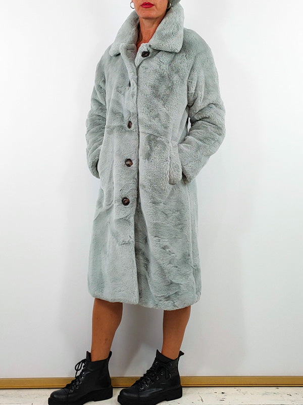 Rino + Pelle Faux Fur Coat [Zonna] - Two Colours