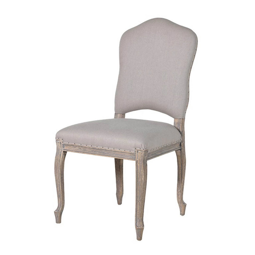 French Linen Dining Chair, Home, BLUE HOME, Blue Women - Blue Women's Clothing