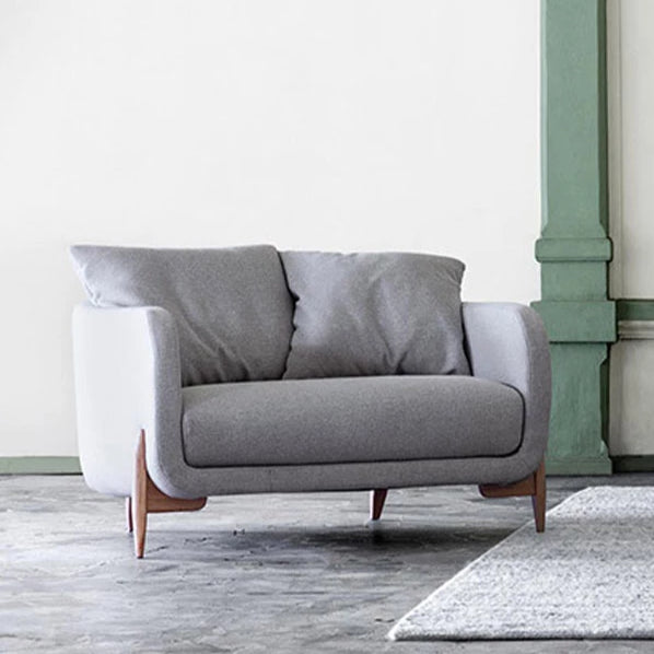 Jenny Love Seat in Kiss Fabric