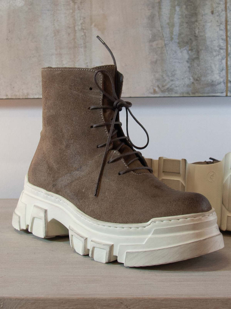 Lofina Handmade LONDON Boots [1E382] in Taupe