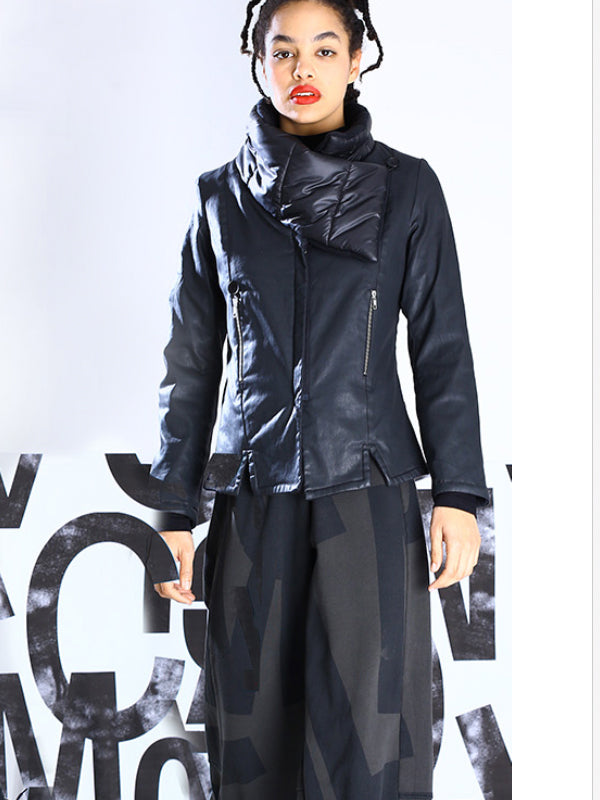 Lurdes Bergada Fitted Coated Jacket  [224] - Two Colours