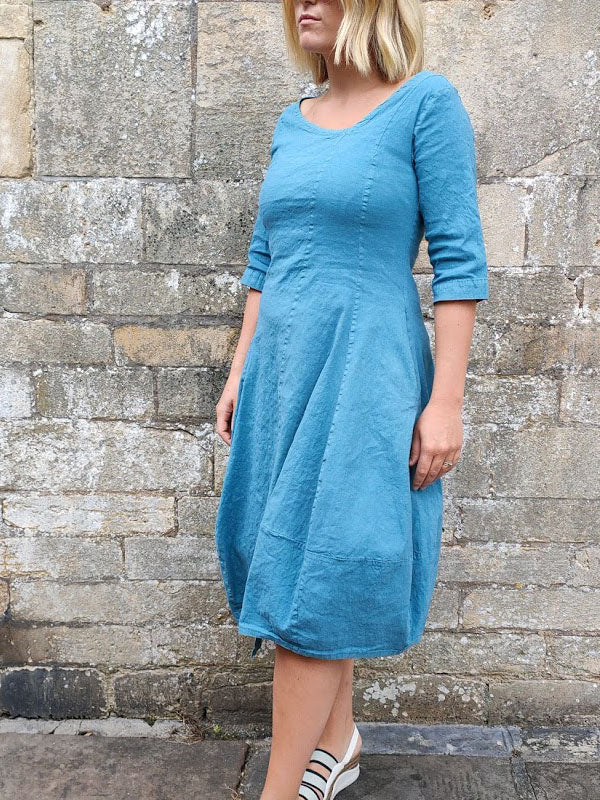 NOOK Sea Blue Bubble Dress