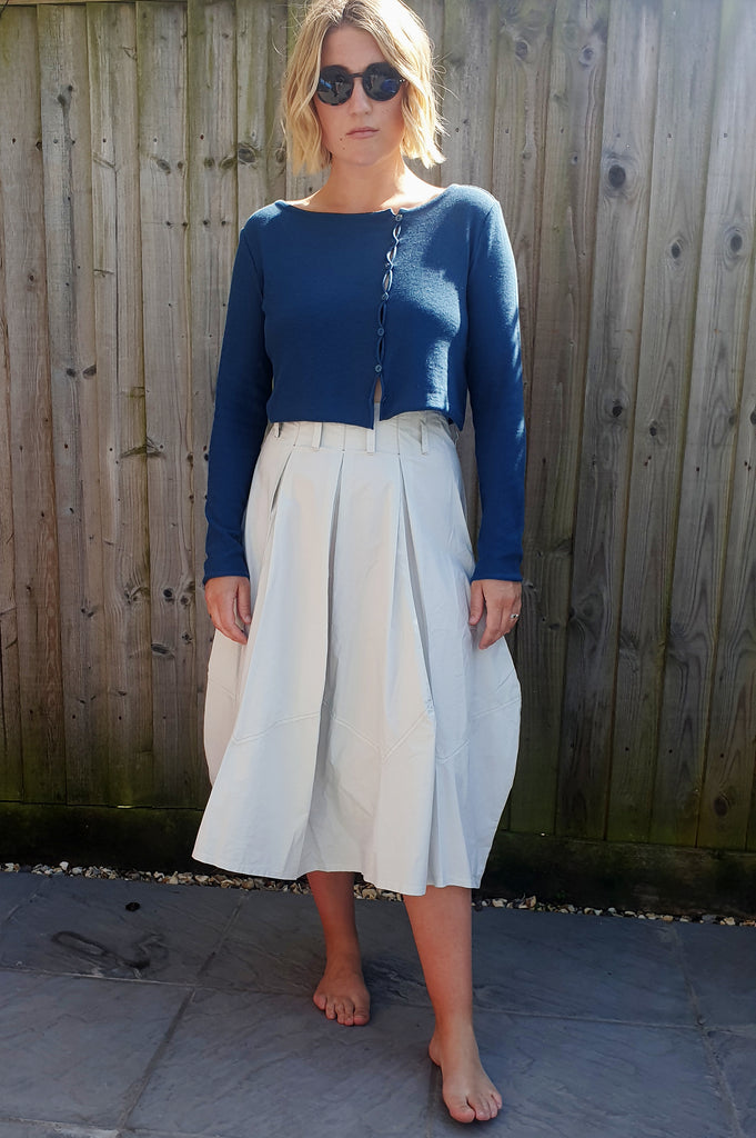 NOOK 'ONNO' CARDI in Blue or White