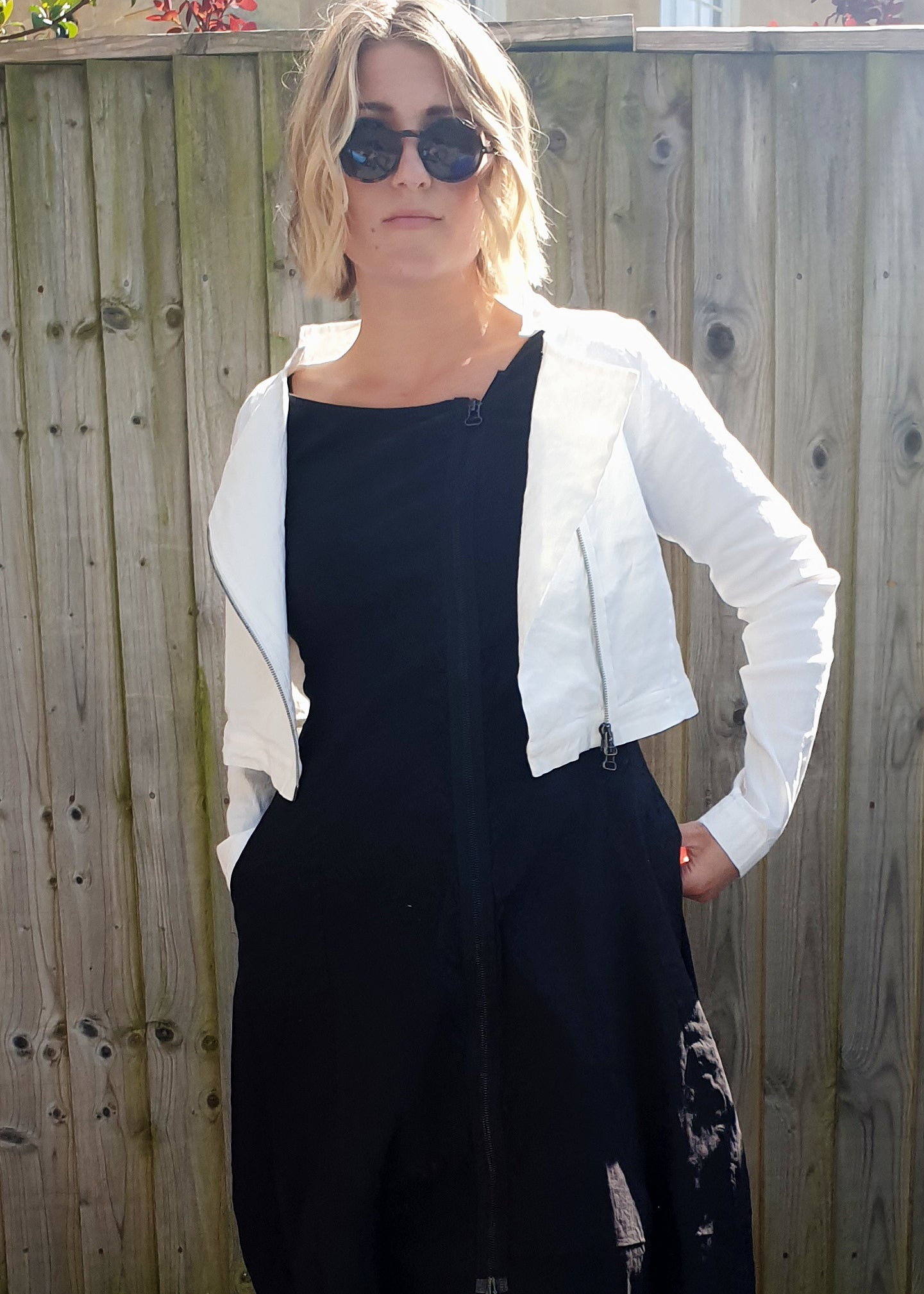 NOOK 'CARLA' FITTED JACKET- 2 COLOURS