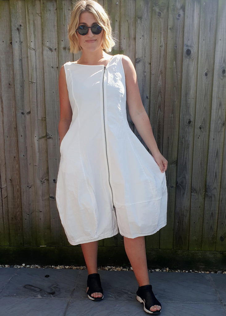 NOOK ZIP DRESS- 3 COLOURS