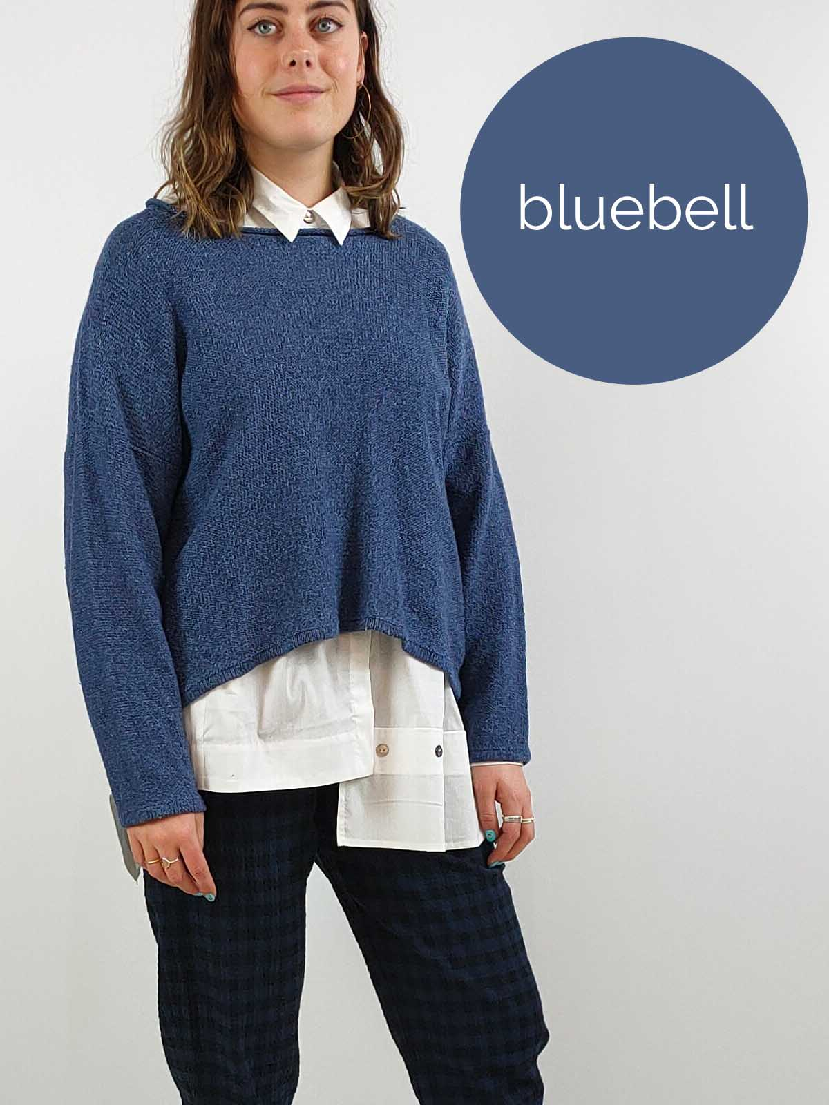 Quernstone Silk & Lambswool Jumper [NORNA1] Two Clours