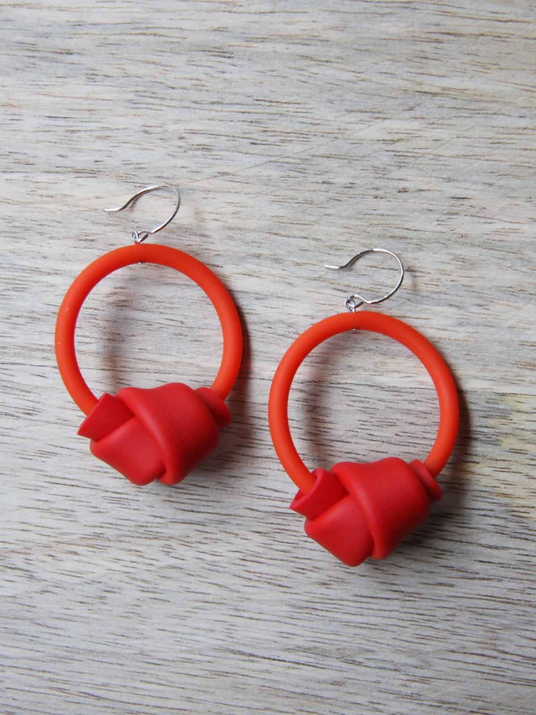 Samuel Coraux Hoops Earrings - Orange