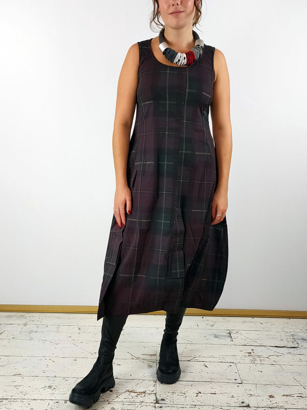 Rundholz Black Label Stretchy Tartan Dress [3440904]