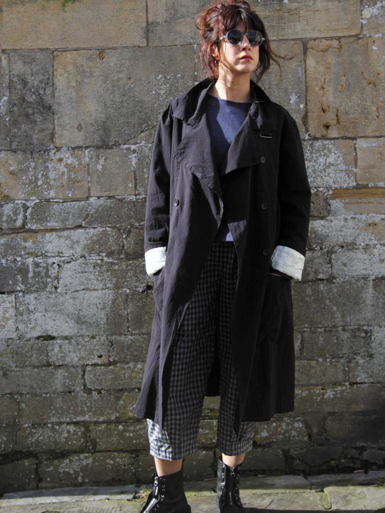 Syngman Cucala Cotton Trench - Dark
