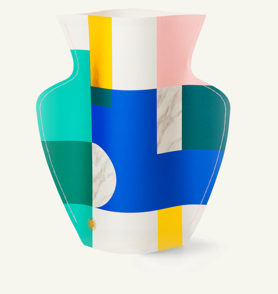 Octaevo Waterproof Paper Vase [SCALA] Multicoloured
