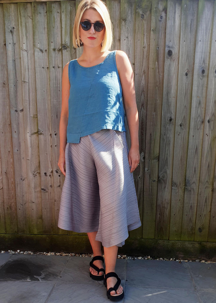 THANNY PLEATED TROUSERS- 2 COLOURS