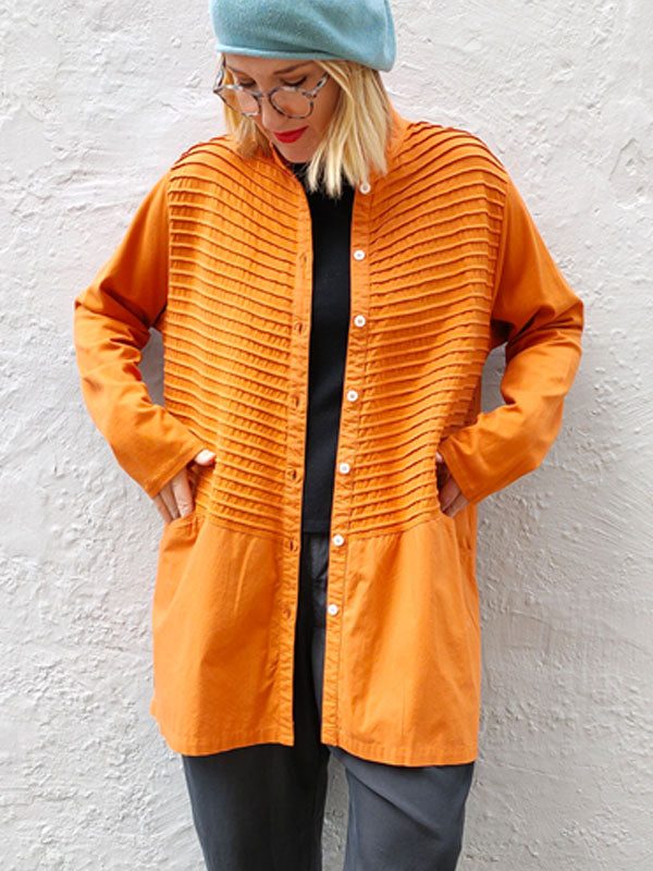 Yacco Maricard Midi Shirt - Orange
