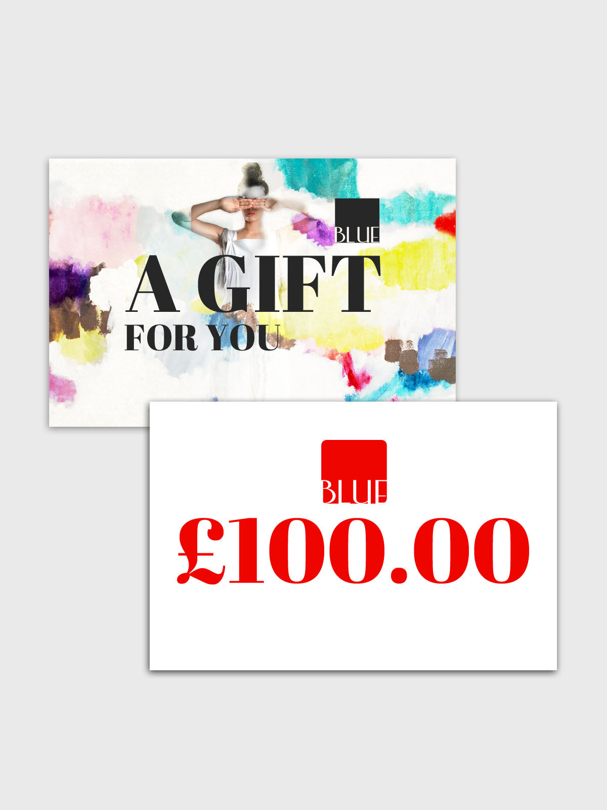 Gift card for Blue in Bath and Cheltenham