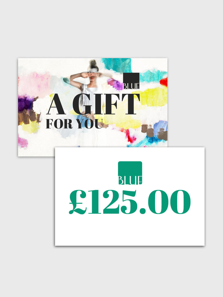 £125 Gift Card for Blue