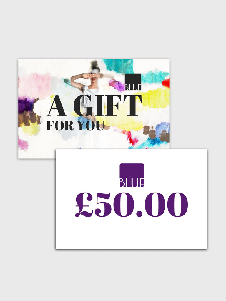 £50.00 Gift Card for Blue