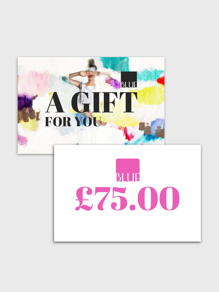 £75.00 Gift Card for Blue