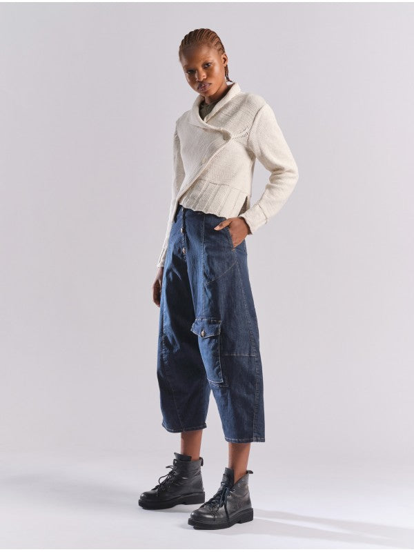 Lurdes Bergada linen Culottes in Black or Grey