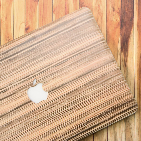 Wooden Print MacBook Pro Case