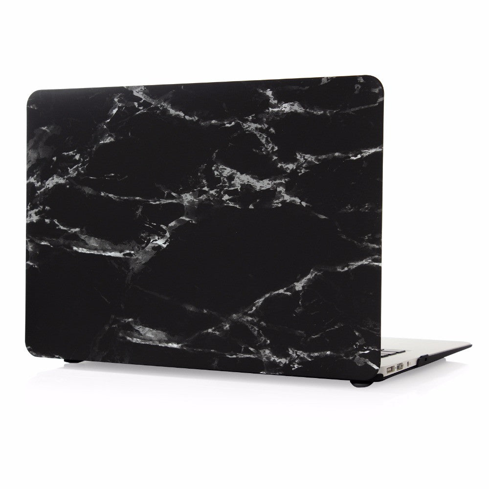 Non Apple Logo Cut Off White X Grey MacBook Pro Case