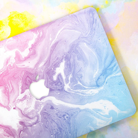 Pink Purple Milky Way Marble MacBook Pro Case