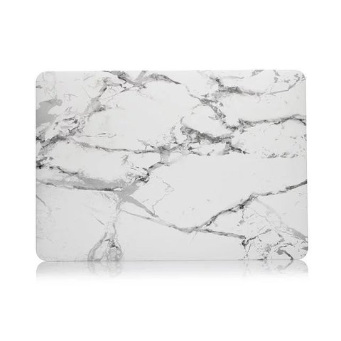Non Apple Logo Cut Off White MacBook Pro Case