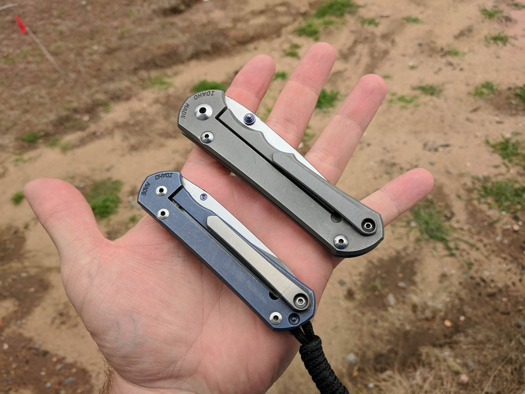 Chris Reeve Knives 3D Machined Pocket Clip