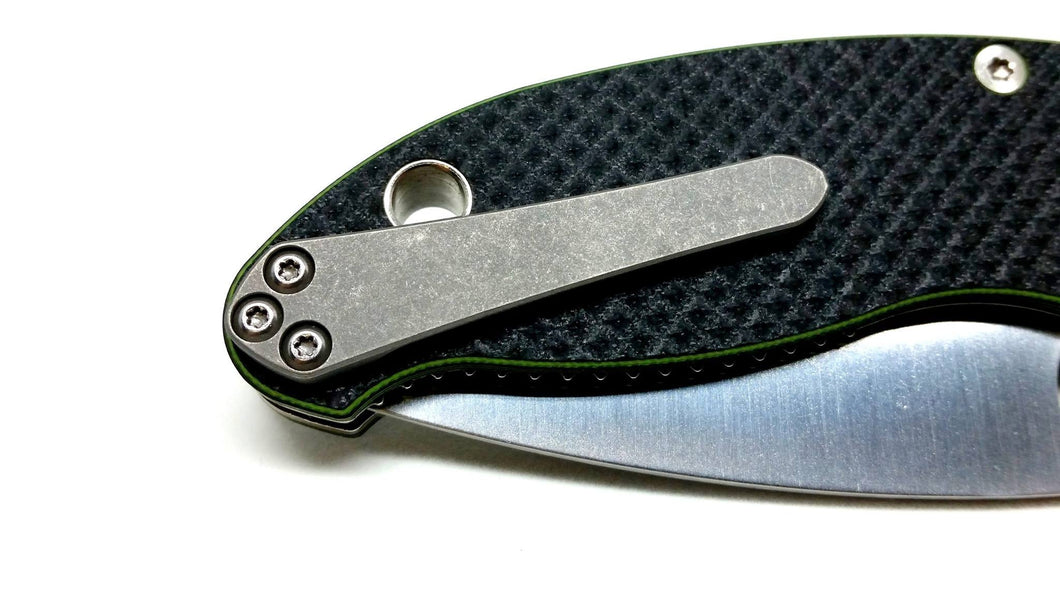 Spyderco Universal 3D Machined Pocket Clip V2.0