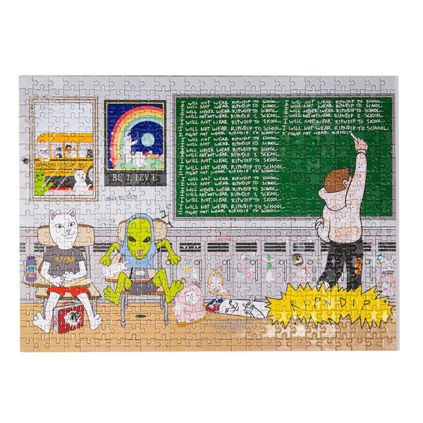 """Stay In School"" 500 Piece Puzzle"
