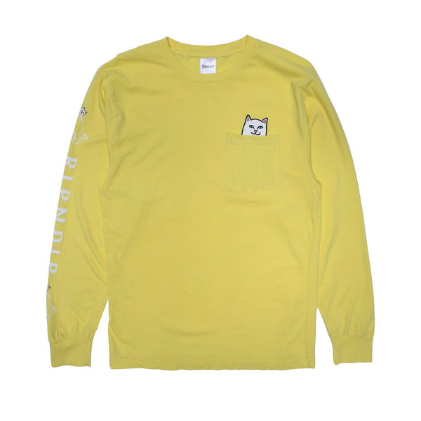 Lord Nermal Pocket Longsleeve (Banana)