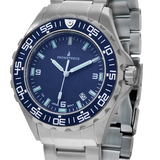 Prometheus JellyFish blue dial