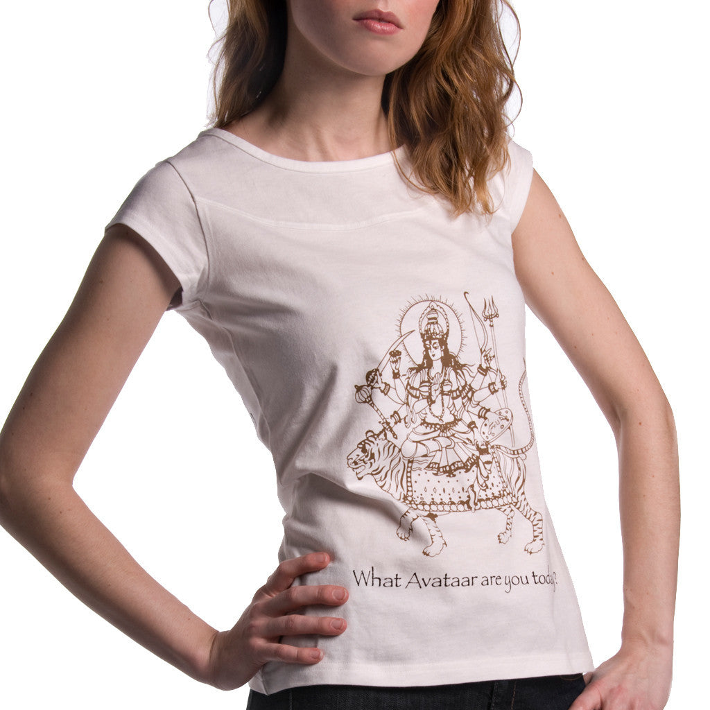 Avataar - Organic cotton T-shirt for women - Shubrah