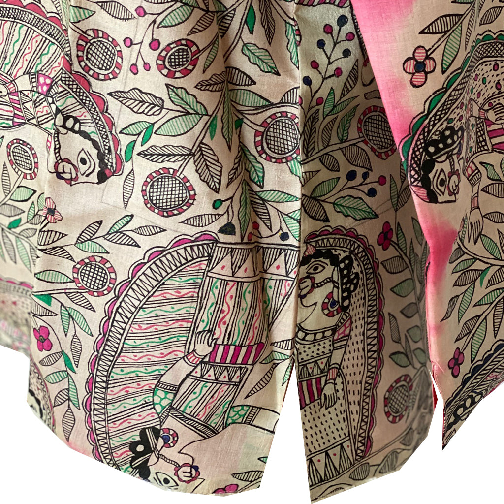 Kalamkari Silk Jacket