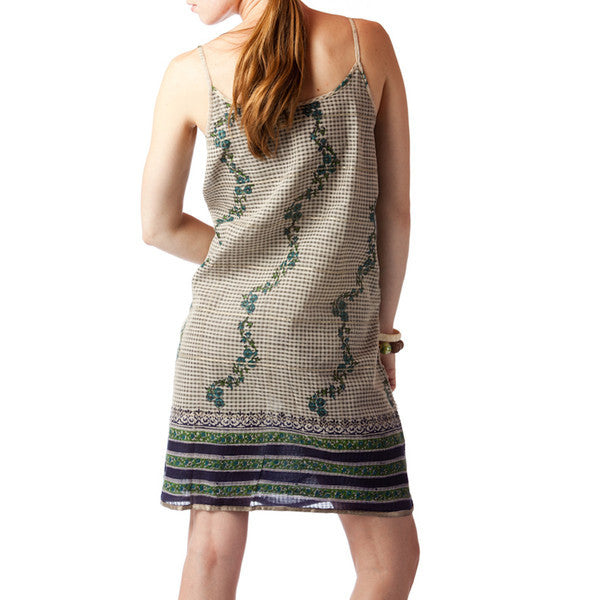 Bela Bengal Upcycled Sari Summer Dress - Shubrah