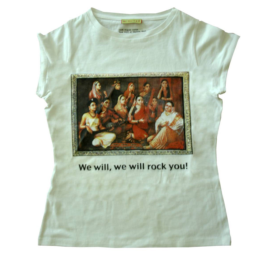 Musical - Organic cotton T-shirt for women