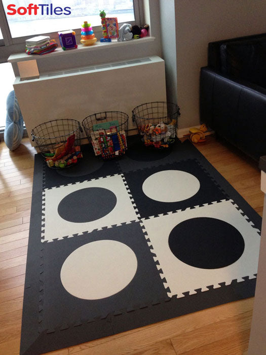 SoftTiles Die-Cut Circles Small Play Mat