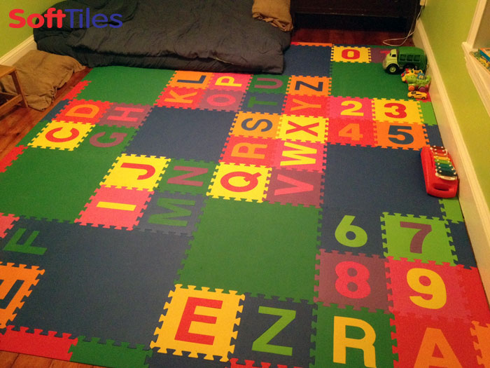 SoftTiles Alphabet Foam Mats | abc floor tiles