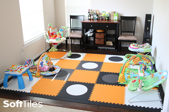 SoftTiles Circles Designer Play Mat