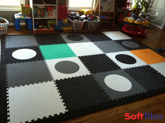 SoftTiles Die-Cut Circles Mat
