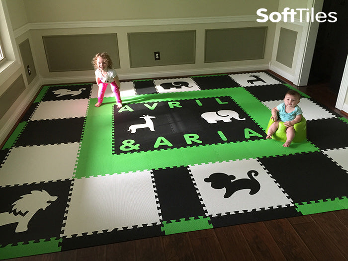 SoftTiles Personalized Foam Play Mat