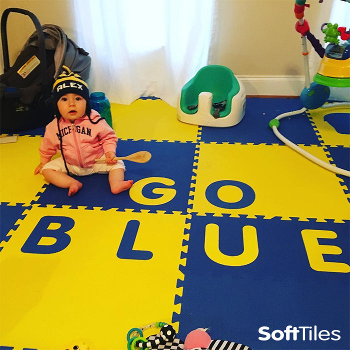 SoftTiles Play Mat with Custom Alphabet Letters