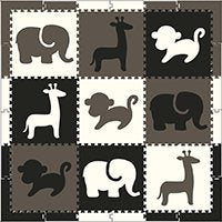 SoftTiles Safari Animals Play Mat