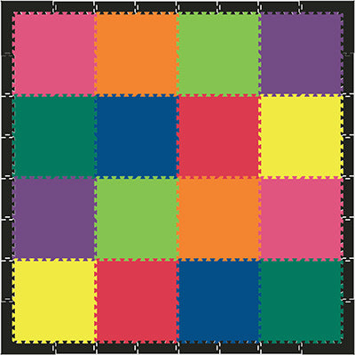 SoftTiles Colorful kids playmat