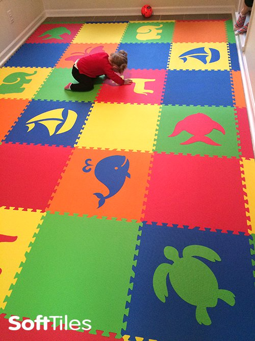 SoftTiles Custom Foam Play Mats
