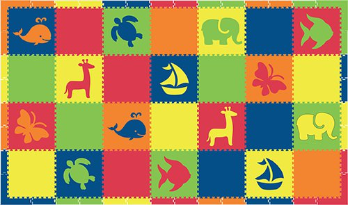 SoftTiles Animals and Shapes Foam Mats