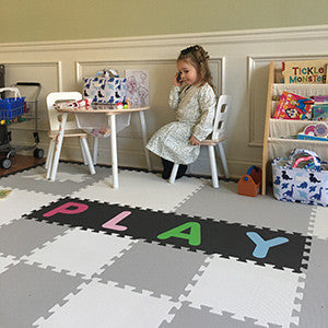 SoftTiles Alphabet Mats- Create Personalized Play mats